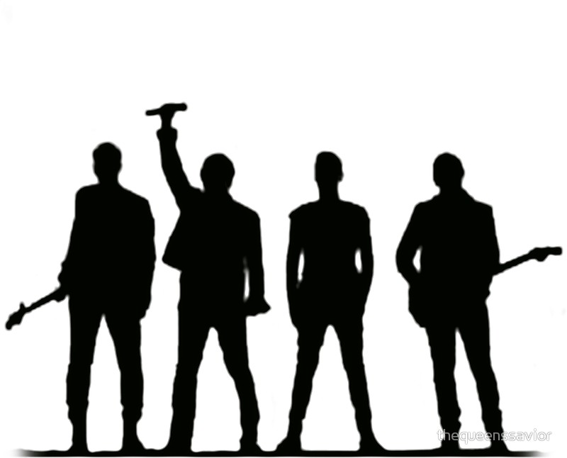800x646 U2 Silhouette The Joshua Tree Tour Stickers By Thequeenssavior