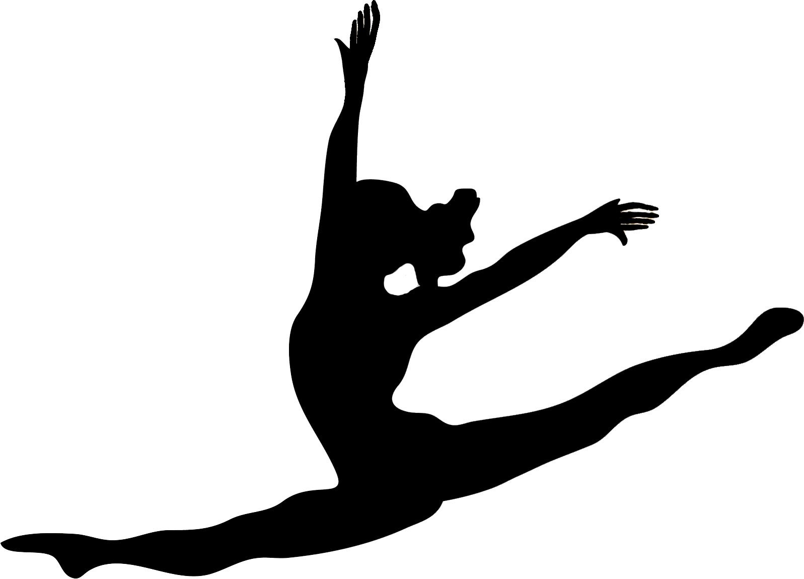 1597x1150 Images For Gt Modern Dance Silhouettes Clip Art Birthday Party