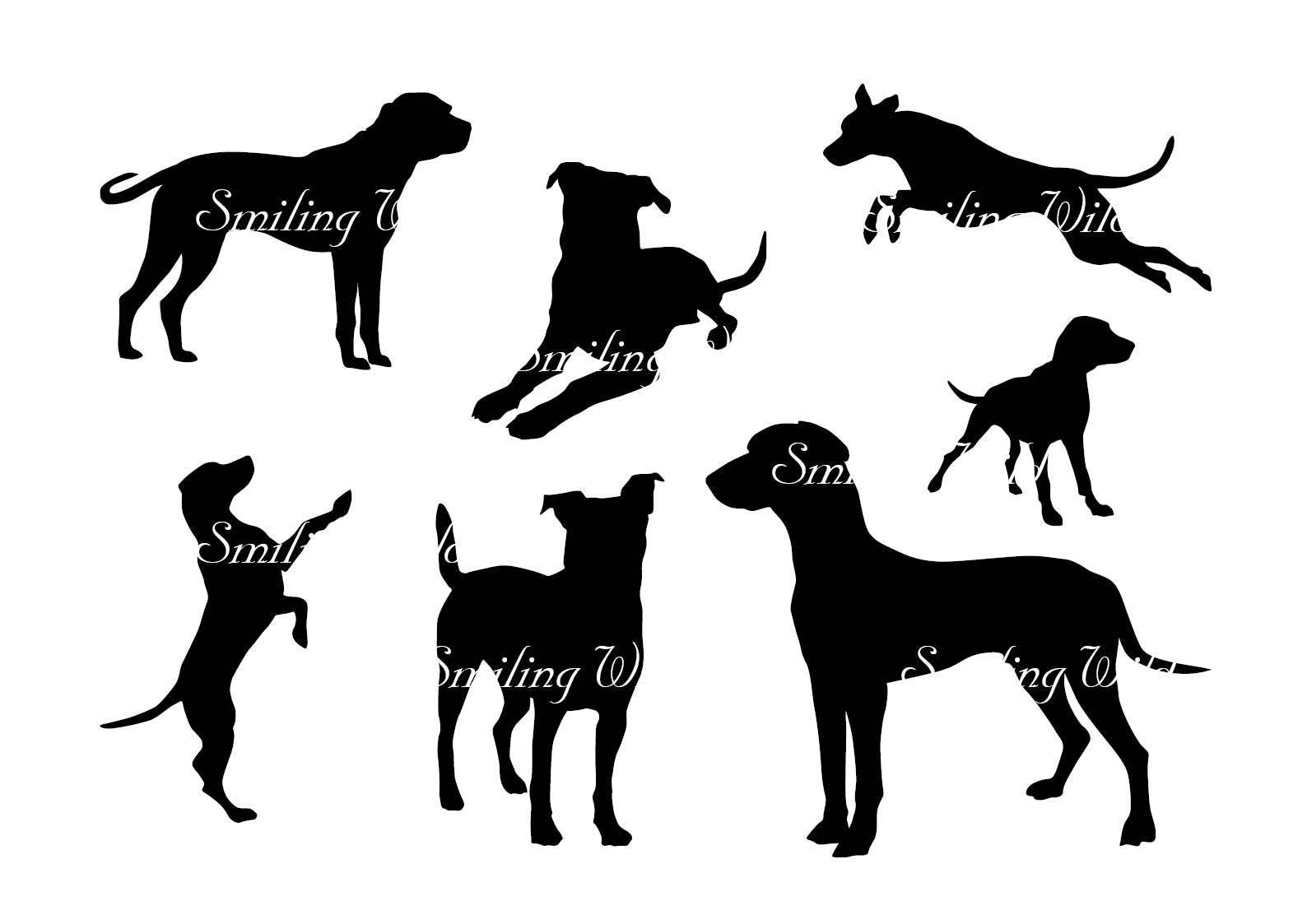 1588x1123 Black Mouth Cur Svg Silhouette Cut Out File Clipart Dog Printable
