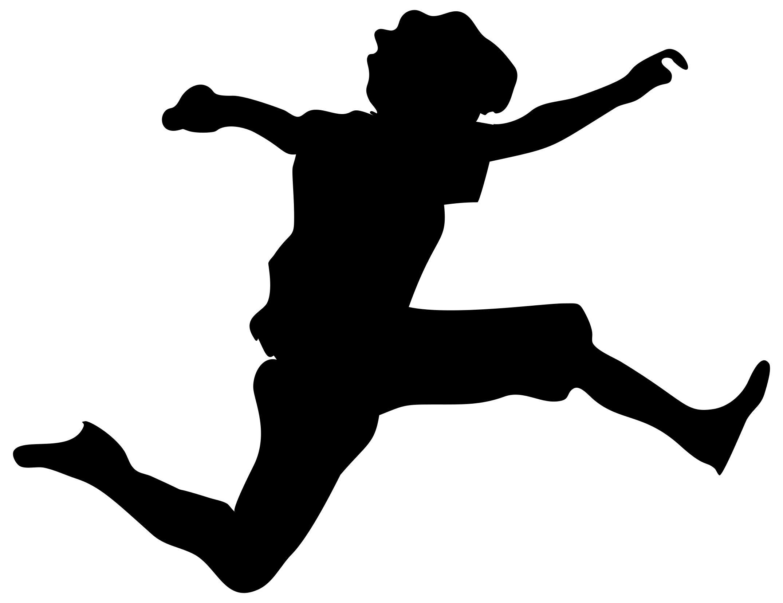 2150x1655 Jumping Boy Silhouette Clipart