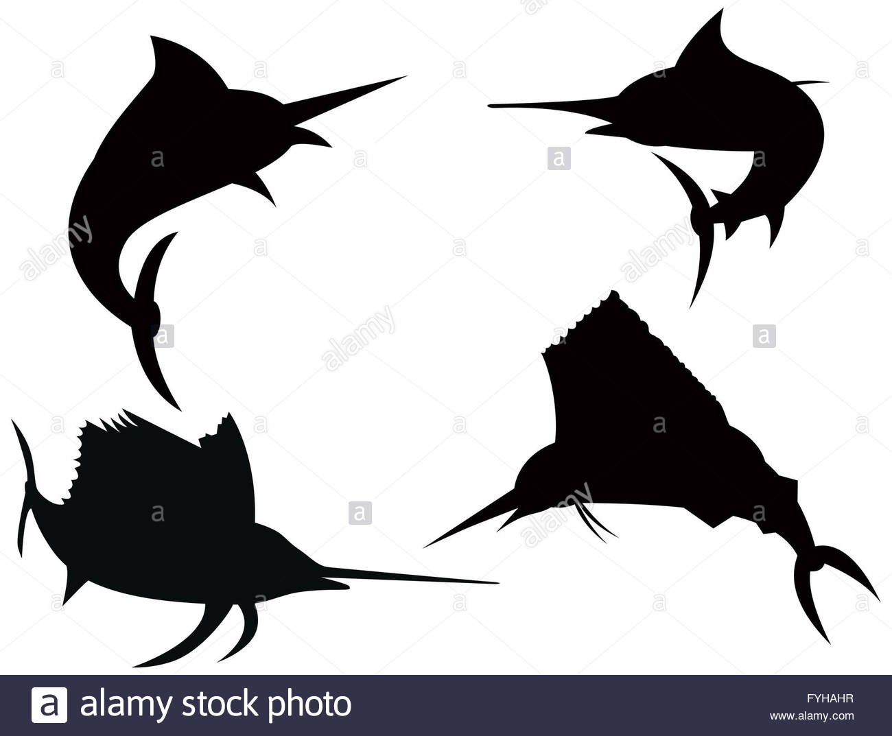 1300x1073 Marlin Cut Out Stock Images Amp Pictures