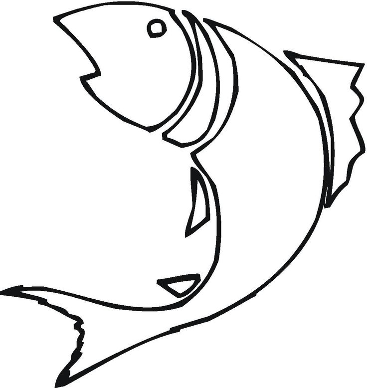 736x778 Shining Inspiration Bass Fish Outline Dxf File Free Download 3axis