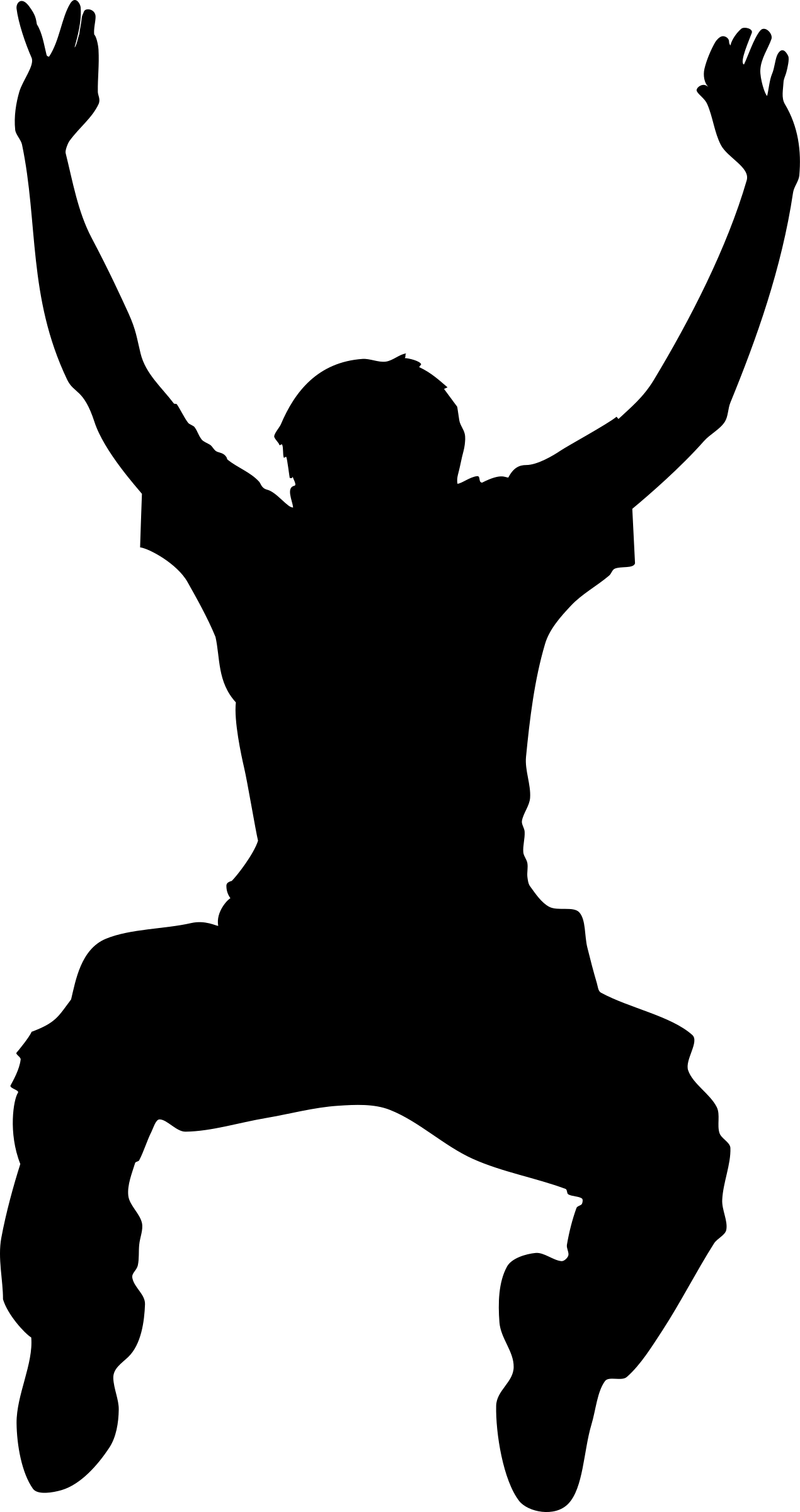 1270x2400 Clip Art Jumping Clip Art