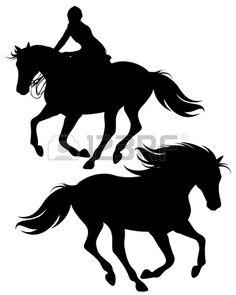 236x295 Jumping Horse Silhouette Clip Art