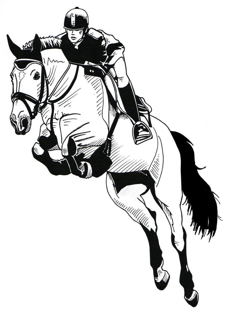 746x1072 Jumping Horse By Harlekin1979
