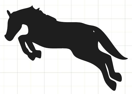 518x369 Horse Silhouette Images