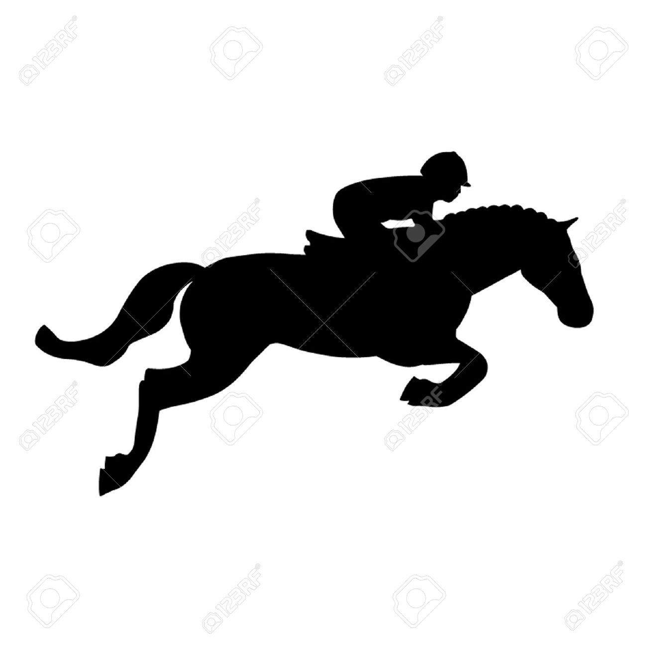 Jumping Horse Silhouette at GetDrawings.com | Free for ... Jumping Horse Silhouette Clip Art