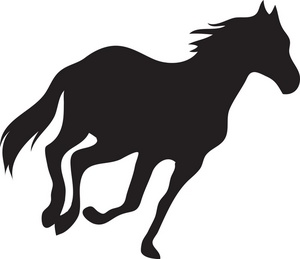 jumping horse silhouette clip art at getdrawings com free for rh getdrawings com Horse Drawings Horse Silhouette