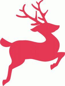 227x300 Flying Reindeer Silhouette Clip Art. Download Free Versions