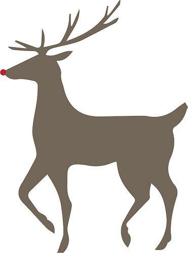 371x500 Rudolph Cricut Designs Cricut, Free And Silhouettes