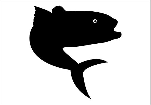 502x351 Trout Fish Silhouette Graphics Silhouette Graphics