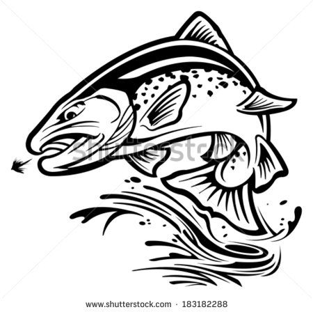 450x448 Speckled Trout Clipart
