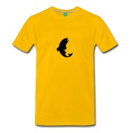 190x190 Trout Silhouette By Martmel Aus Spreadshirt