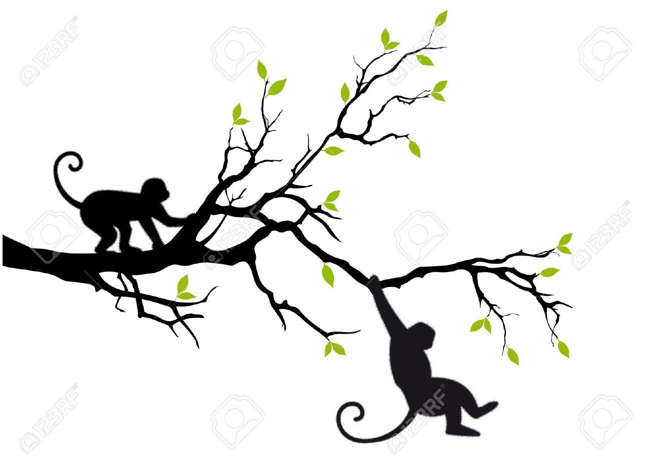 1300x910 Hanging Monkey