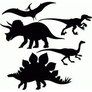 Jurassic Park Silhouette