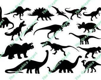 340x270 Dinosaur Svg, Dinosaurs Silhouette Svg, Jurassic Park Clip Art