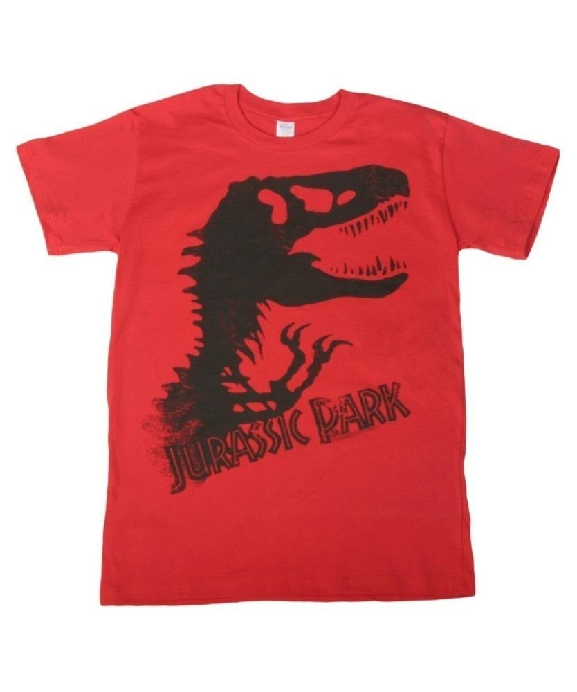 834x1000 Jurassic Park Silhouette T Shirt