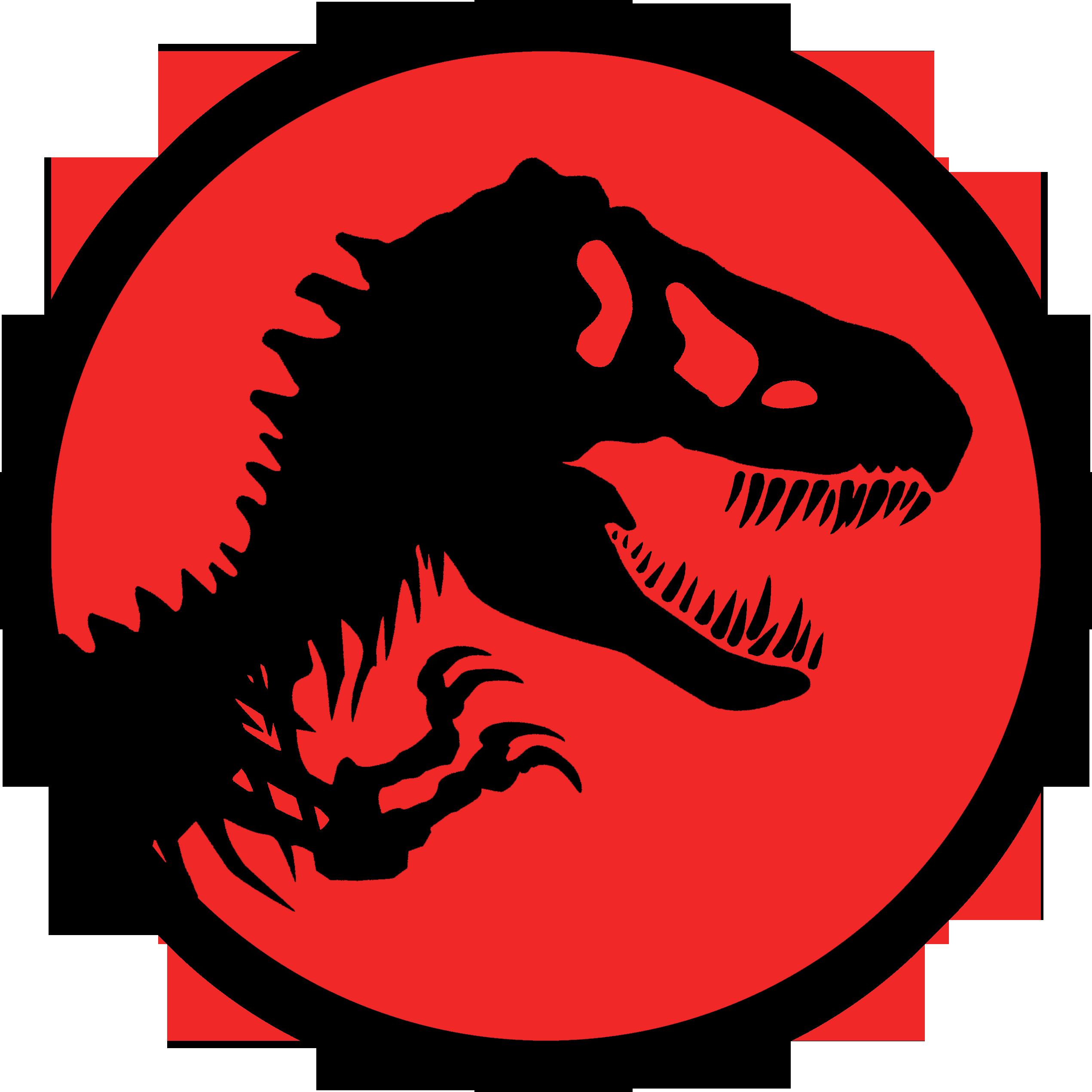 2541x2540 Logo Jurassic Park