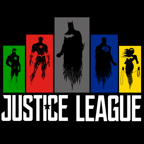 600x600 Justice League Silhouettes 2 Qcumber