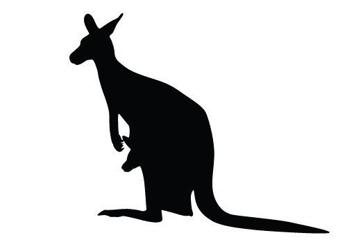 500x350 Animal Silhouette Silhouette Graphics Animal Silhouette