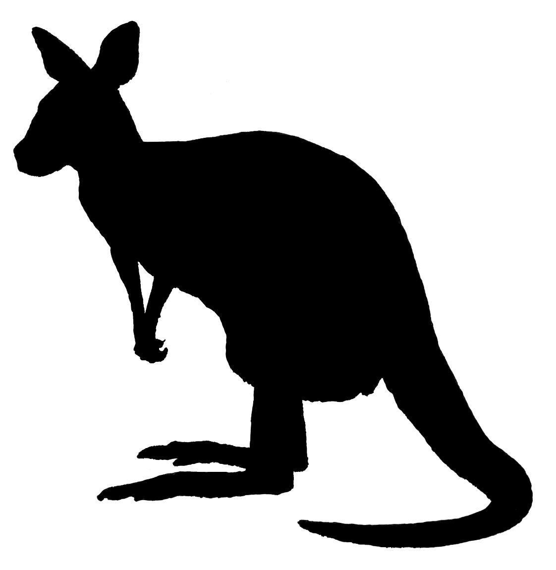 1122x1150 Kangaroo Silhouette Png Image Png Arts