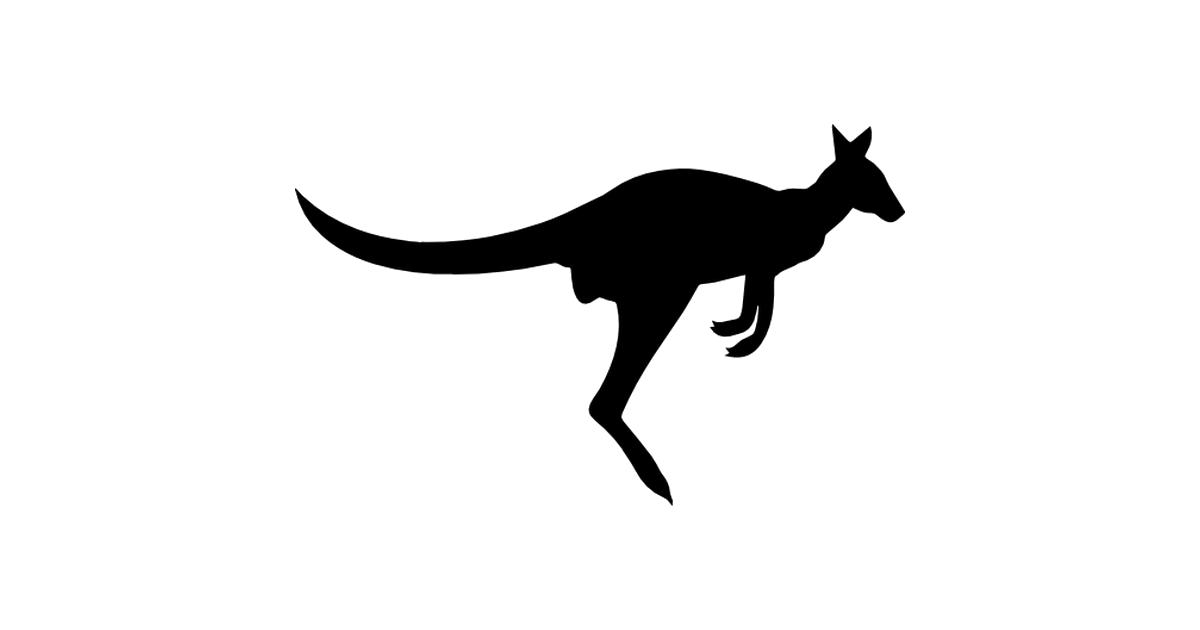 1200x630 Kangaroo Silhouette Png Transparent Image Png Arts