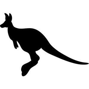 300x300 Free Kangaroo Clip Art Image