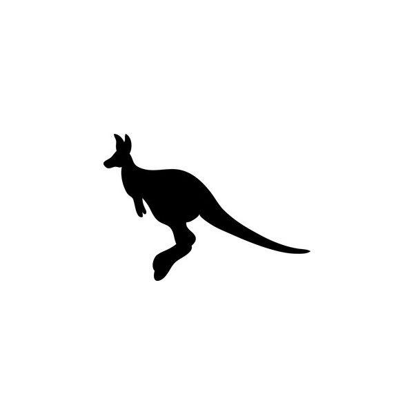 600x600 Free Kangaroo Clip Art Image