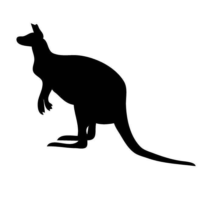 660x660 Kangaroo Silhouette
