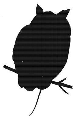 250x393 Flying Owl Silhouette Clipart Panda