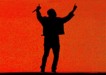 Kanye West Silhouette
