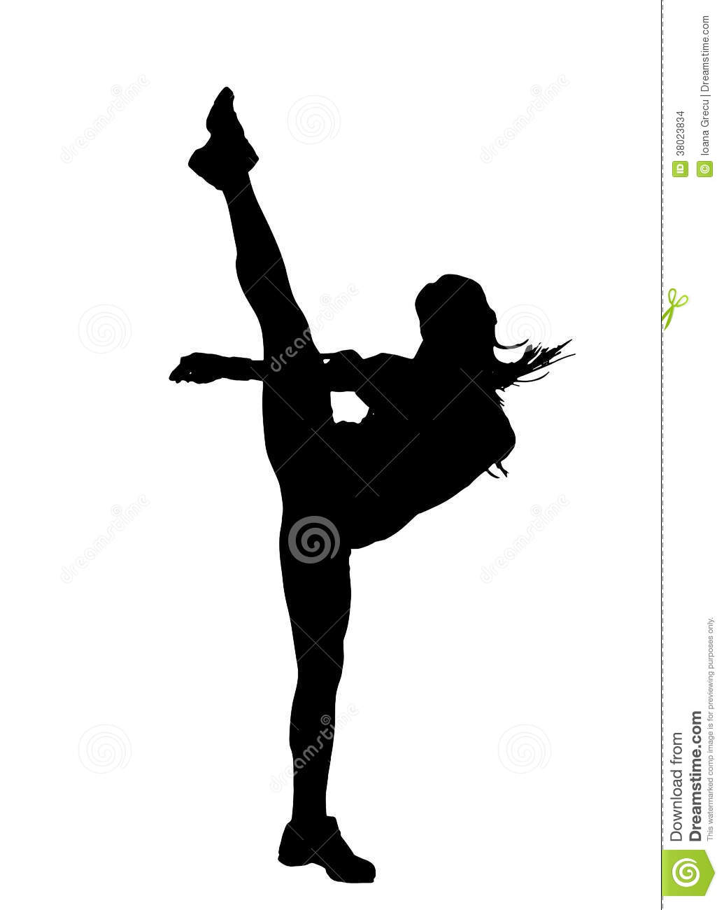1035x1300 Martial Arts Clipart High Kick