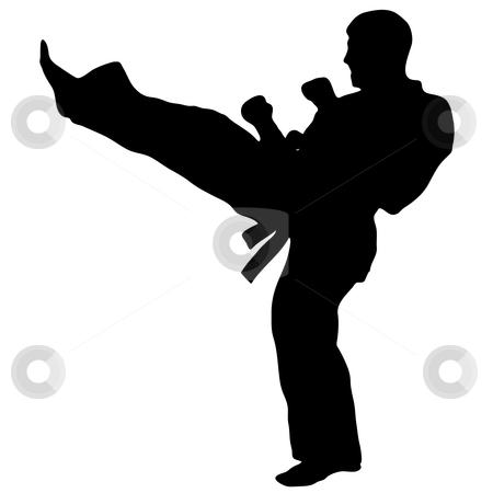 450x450 Martial Art Karate,taekwondo Stock Vector