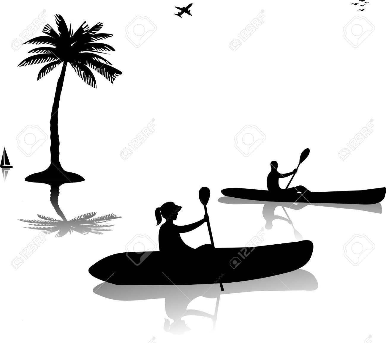 1300x1154 Pin By Keena Brown On Kayak Clipart Collection And Woman