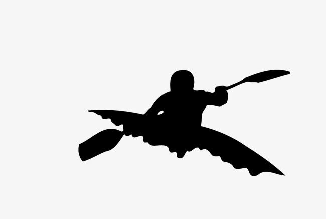 650x437 Kayak Silhouette, Sports, Action Png And Vector For Free Download