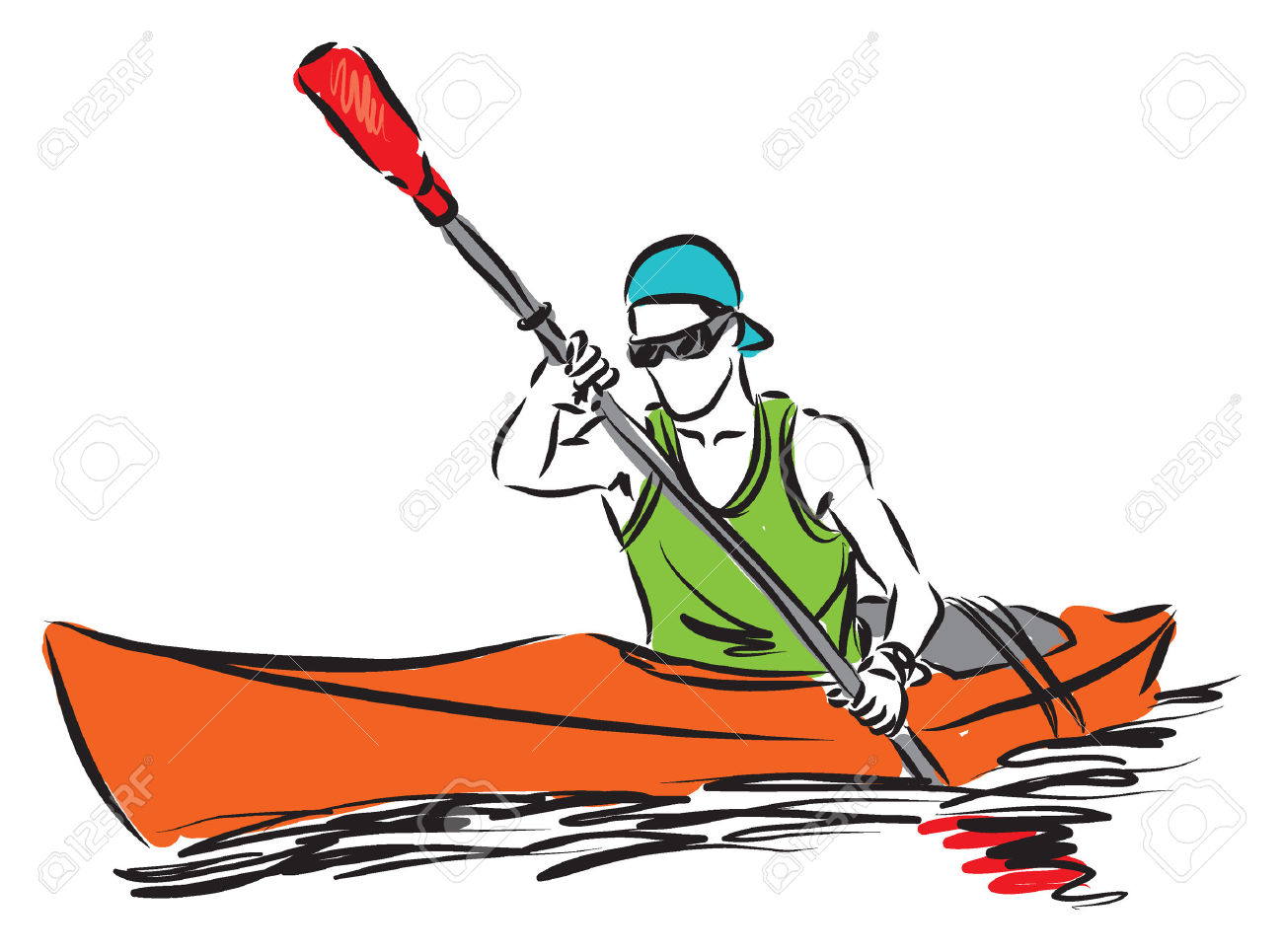 1300x965 Kayak Clipart Kayak Fishing