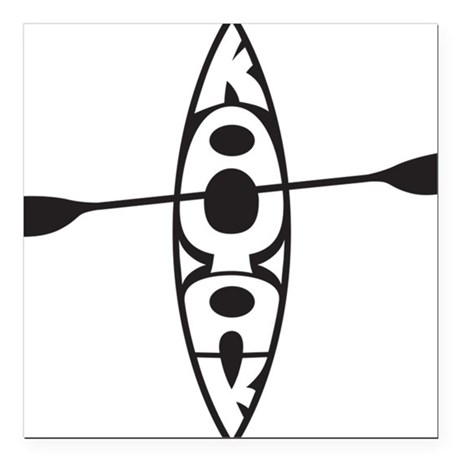 460x460 Kayak Car Magnets