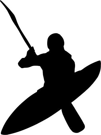 338x450 Kayak Clipart Silhouette Many Interesting Cliparts