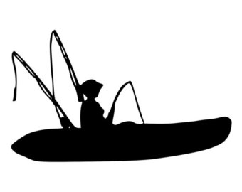 340x270 Kayak Clipart Kayak Fishing