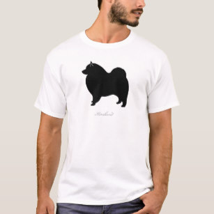 307x307 Keeshond Silhouette Clothing Amp Apparel Zazzle