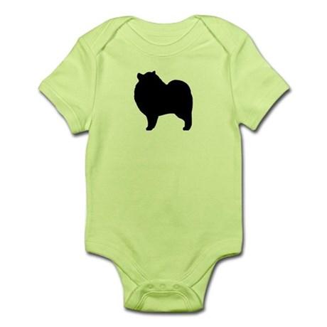 460x460 Keeshond Baby Bodysuits