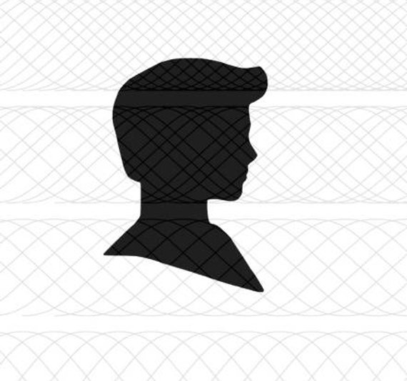 570x534 Ken Doll Head Silhouette Svgpngstudio3 Cut Files