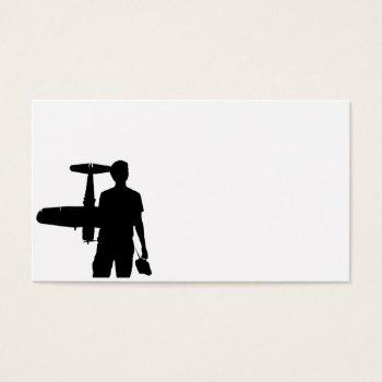 350x350 Model Silhouettes Business Cards Business Cards 100