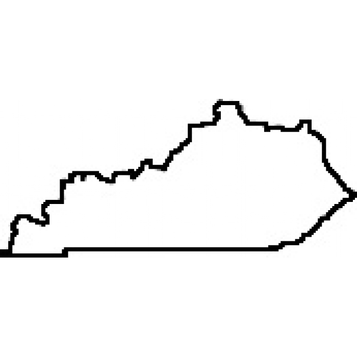 700x700 Best Photos Of Maps Of Kentucky State Silhouette