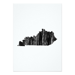 307x307 Kentucky Outline Gifts On Zazzle