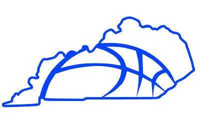 400x252 Kentucky Basketball State Outline, Digital Cut File, Wildcat
