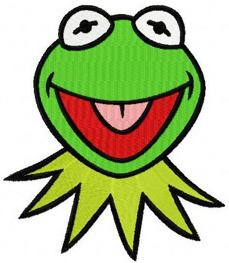 473x543 Kermit Machine Embroidery Design Machine Embroidery