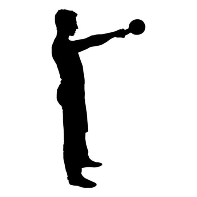 Kettlebell Silhouette at GetDrawings.com | Free for ...