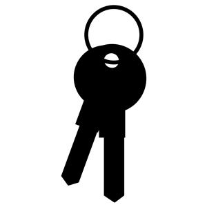 300x300 Keys Silhouette Clipart, Cliparts Of Keys Silhouette Free Download