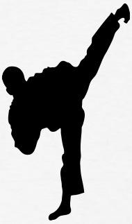 190x323 Taekwondo High Kick Silhouette By Azza1070 Spreadshirt